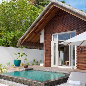Luxury Maldives Holidays Fairmont Maldives Sirru Fen Fushi Beach Sunset Villa 2