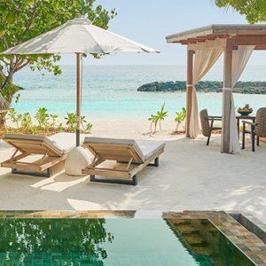 Luxury Maldives Holidays Fairmont Maldives Sirru Fen Fushi Beach Sunset Villa 3