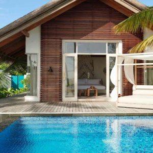Luxury Maldives Holidays Fairmont Maldives Sirru Fen Fushi Deluxe Beach Sunrise Villa7