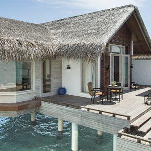 Luxury Maldives Holidays Fairmont Maldives Sirru Fen Fushi Grand Water Sunset Villa 2