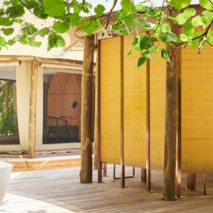 Luxury Maldives Holidays Fairmont Maldives Sirru Fen Fushi Tented Jungle Villa 3