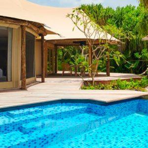 Luxury Maldives Holidays Fairmont Maldives Sirru Fen Fushi Tented Jungle Villa 4