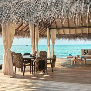 Luxury Maldives Holidays Fairmont Maldives Sirru Fen Fushi Three Bedroom Water Sunset Villa 2