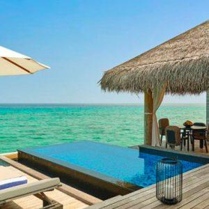Luxury Maldives Holidays Fairmont Maldives Sirru Fen Fushi Two Bedroom Water Sunrise Villa 2