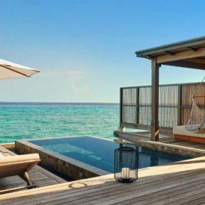 Luxury Maldives Holidays Fairmont Maldives Sirru Fen Fushi Water Sunrise Villa1