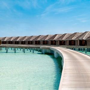 LUX Maldives aerial shots