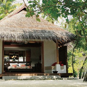 LUX Maldives beach villa