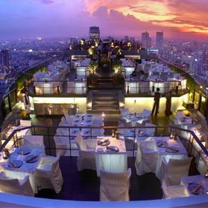 Banyan Tree Bangkok vertigo restaurant