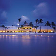 Sandals Grande Antigua Resort & spa at night