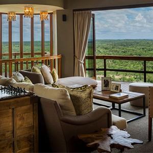 Ulusaba Lodge - Cliff Lodge One Views