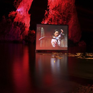 Six Senses Yao Noi - movie on the rocks