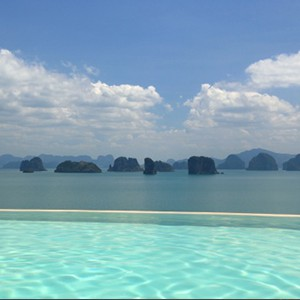 Six Senses Yao Noi - pool view