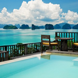 Six Senses Yao Noi - pool villa2