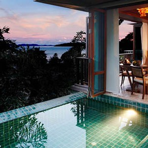 centara grand one bedroom ocean facing villa with pool 3