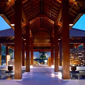 grand hyatt bali - bali honeymoon - exterior