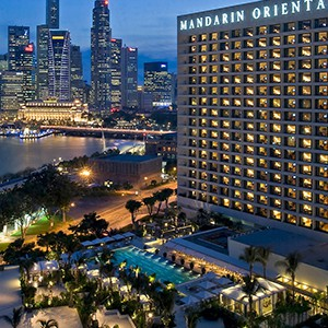 Marina oriental - Singapore Honeymoon Packages - exterior
