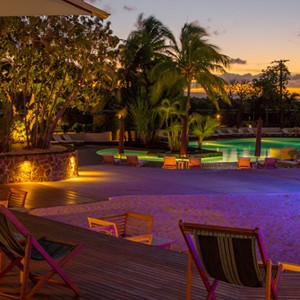 Solana Beach - Mauritius Honeymoon Packages- pool