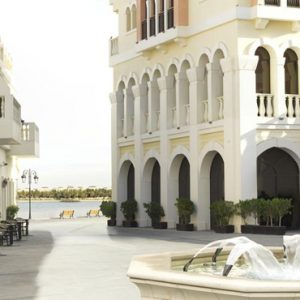luxury Abu Dhabi holiday Packages The Ritz Carlton Abu Dhabi Grand Canal Exterior 4