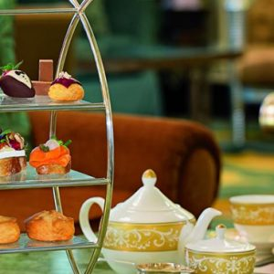 luxury Abu Dhabi holiday Packages The Ritz Carlton Abu Dhabi Grand Canal High Tea 2