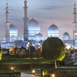 luxury Abu Dhabi holiday Packages The Ritz Carlton Abu Dhabi Grand Canal Mosque