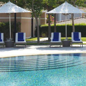 luxury Abu Dhabi holiday Packages The Ritz Carlton Abu Dhabi Grand Canal Pool