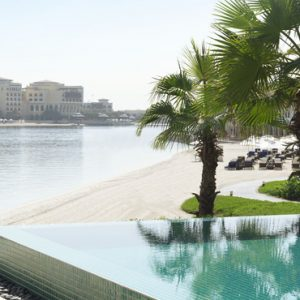 luxury Abu Dhabi holiday Packages The Ritz Carlton Abu Dhabi Grand Canal Pool 2