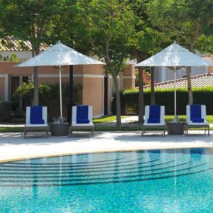luxury Abu Dhabi holiday Packages The Ritz Carlton Abu Dhabi Grand Canal Pool 3