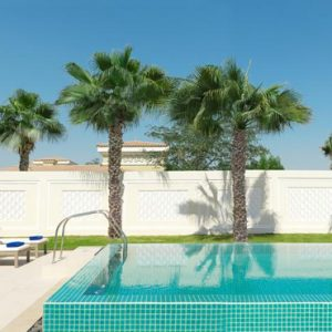 luxury Abu Dhabi holiday Packages The Ritz Carlton Abu Dhabi Grand Canal Pool Villa