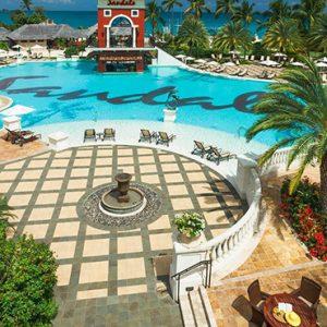 luxury Antigua holiday Packages Sandals Grande Antigua Pool 4