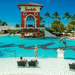 luxury Antigua holiday Packages Sandals Grande Antigua Pool 5