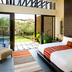 Banyan Tree Mayakoba - bedroom