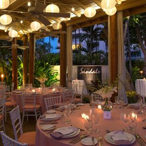 luxury Barbados holiday Packages Sandals Barbados Dining 11