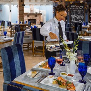 luxury Barbados holiday Packages Sandals Barbados Dining 5