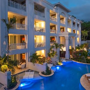 luxury Barbados holiday Packages Sandals Barbados Exterior