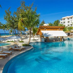 luxury Barbados holiday Packages Sandals Barbados Pool 3