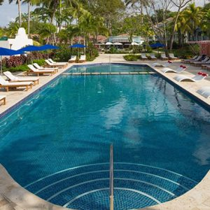 luxury Barbados holiday Packages Sandals Barbados Pool 6