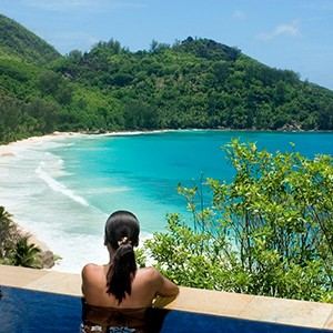 Bayan Tree Seychelles - pool view