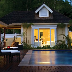 Bayan Tree Seychelles - pool villa