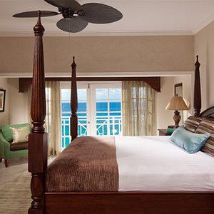 Bed Sandals Ochio Rios Jamaica Riviera Beachfront One Bedroom Butler Suite