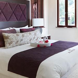 Buccament Bay - bedroom