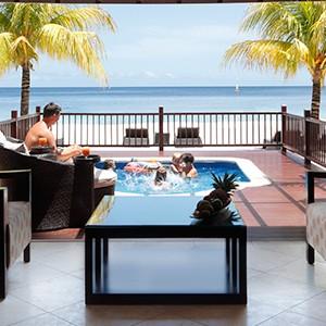 Buccament Bay - pool villa