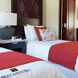 Buccament Bay - twin room