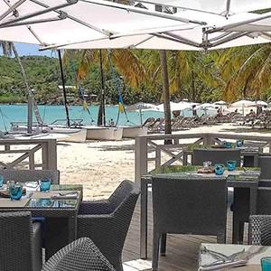 Carlisle Bay Antigua - Antigua Luxury Holidays - restaurant
