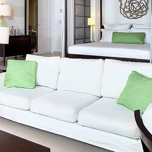 Carlisle Bay Antigua - Antigua Luxury Holidays - sofa and bed