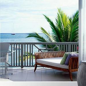 Carlisle Bay Antigua - Antigua Luxury Holidays - terrace view