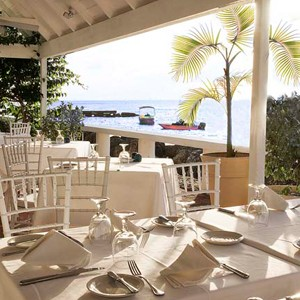 Cobblers Cove Barbados - luxury barbados holidays - resturant
