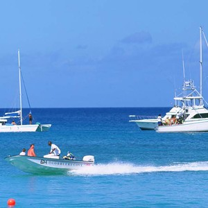 Cobblers Cove Barbados - luxury barbados holidays - watersports