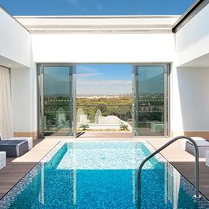 Conrad Algarve - pool suite