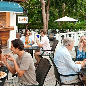 Dinos Pizzeria - Sandals Ochi Beach Resort jamaica - Luxury Jamaica Holidays