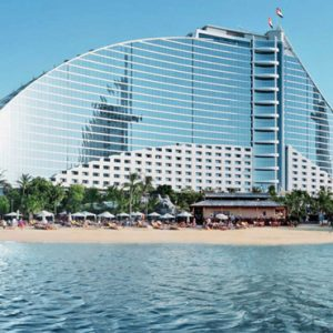 luxury Dubai holiday Packages Jumeirah Beach Hotel Dubai Exterior